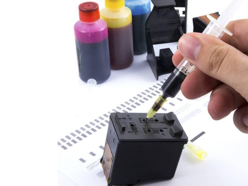 Image result for inkjet cartridge refilling