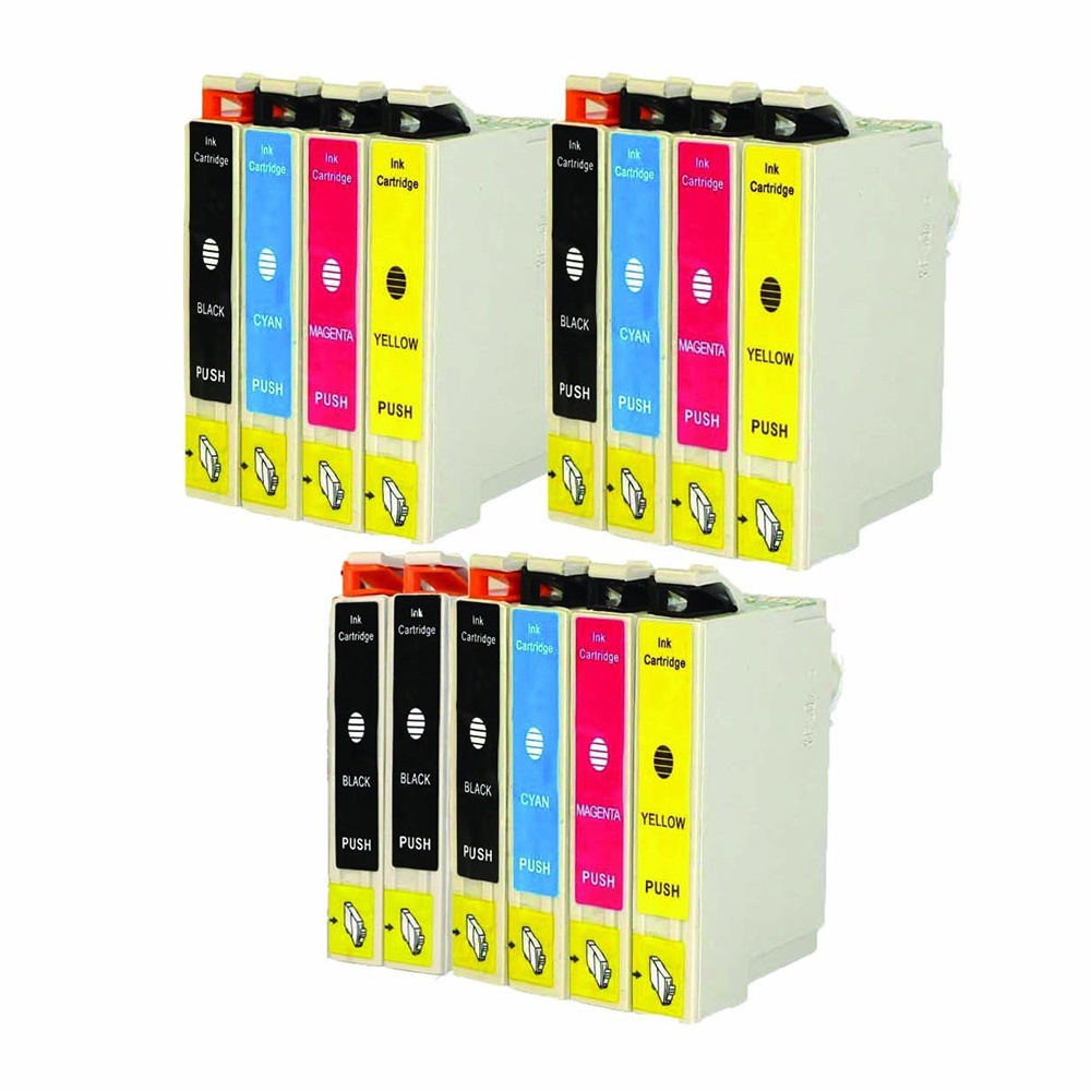 14 Ink Cartridge Compatible Epson 60 T060 T060120 T060220 T060320 T060420