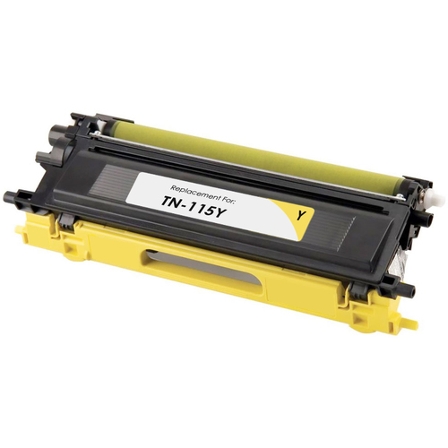 Cartouche Laser Compatible Brother TN-115Y (TN115Y) Jaune