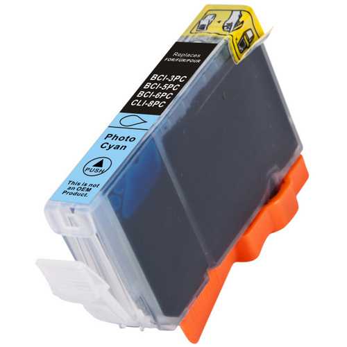 Ink Cartridge Compatible Canon (0624B002) CLI-8PC Photo Cyan