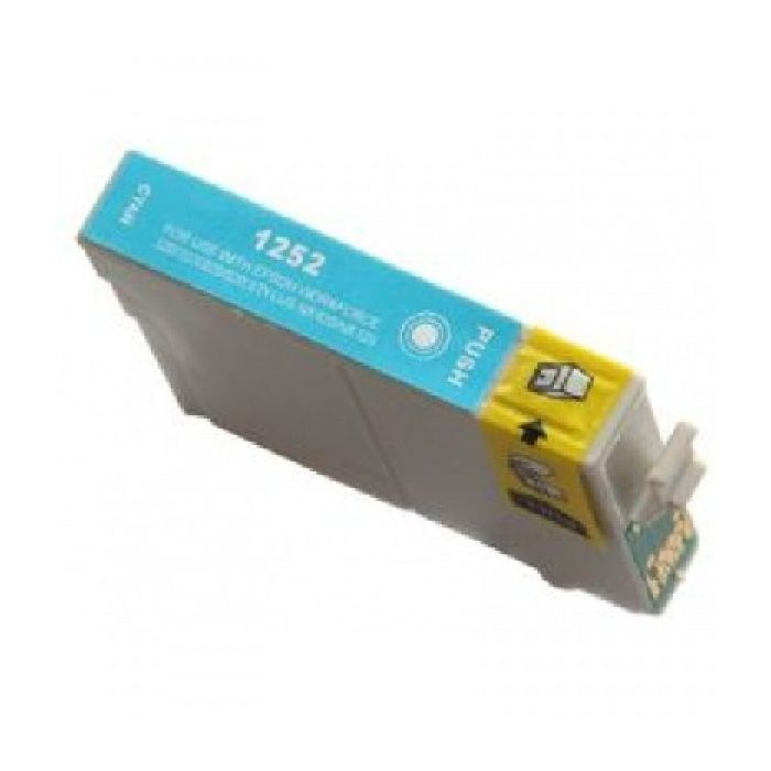 Ink Cartridge Compatible Epson T125 T1252 (T125220) Cyan