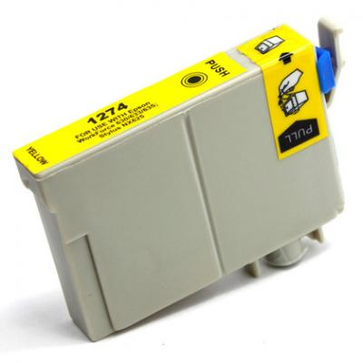 Ink Cartridge Compatible Epson T127 T1274 (T127420) Yellow