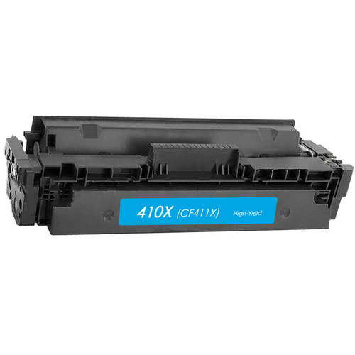 Toner Compatible Cartridge HP 410X (CF411X) Cyan