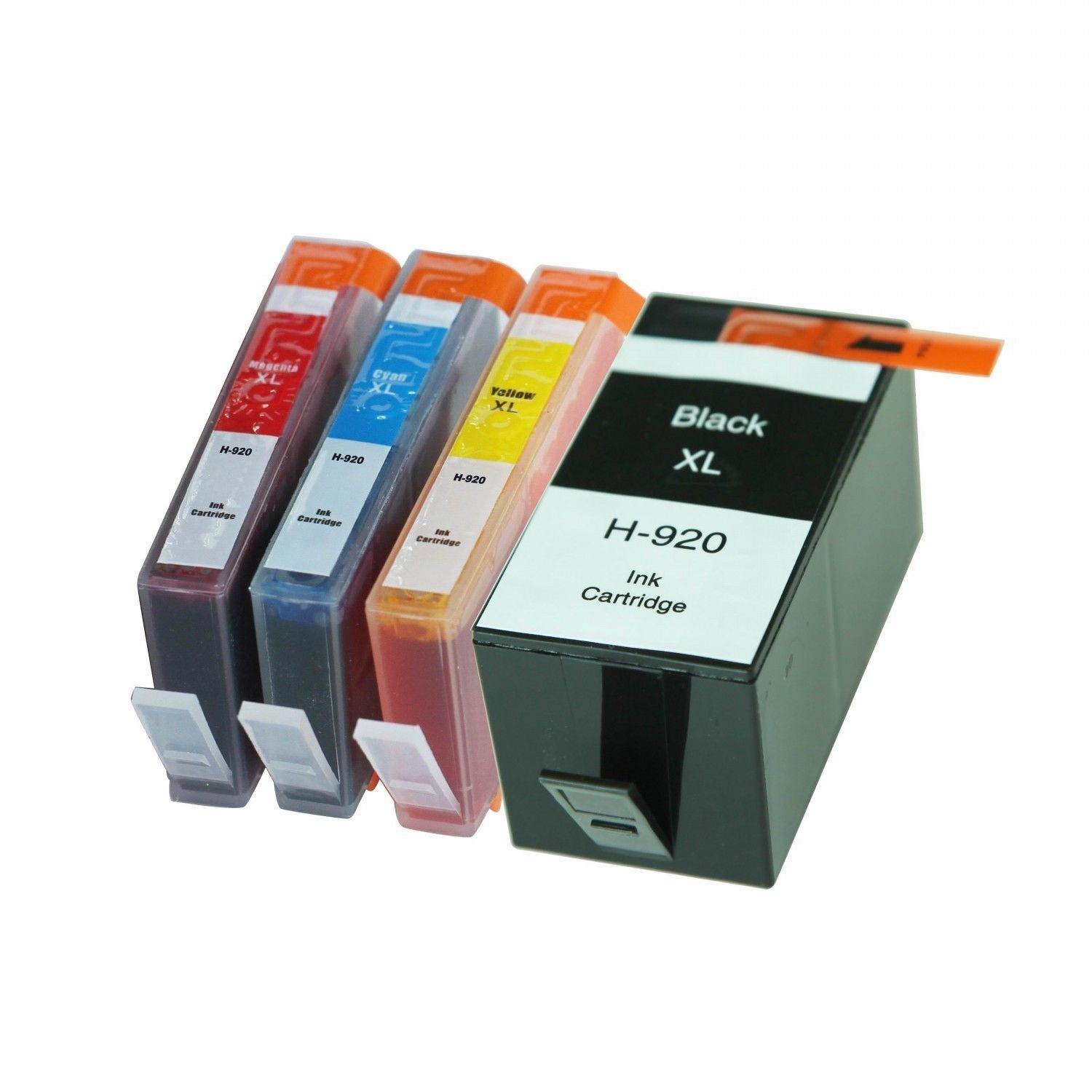 4 Ink Cartridge Compatible HP 920XL (CMYK)
