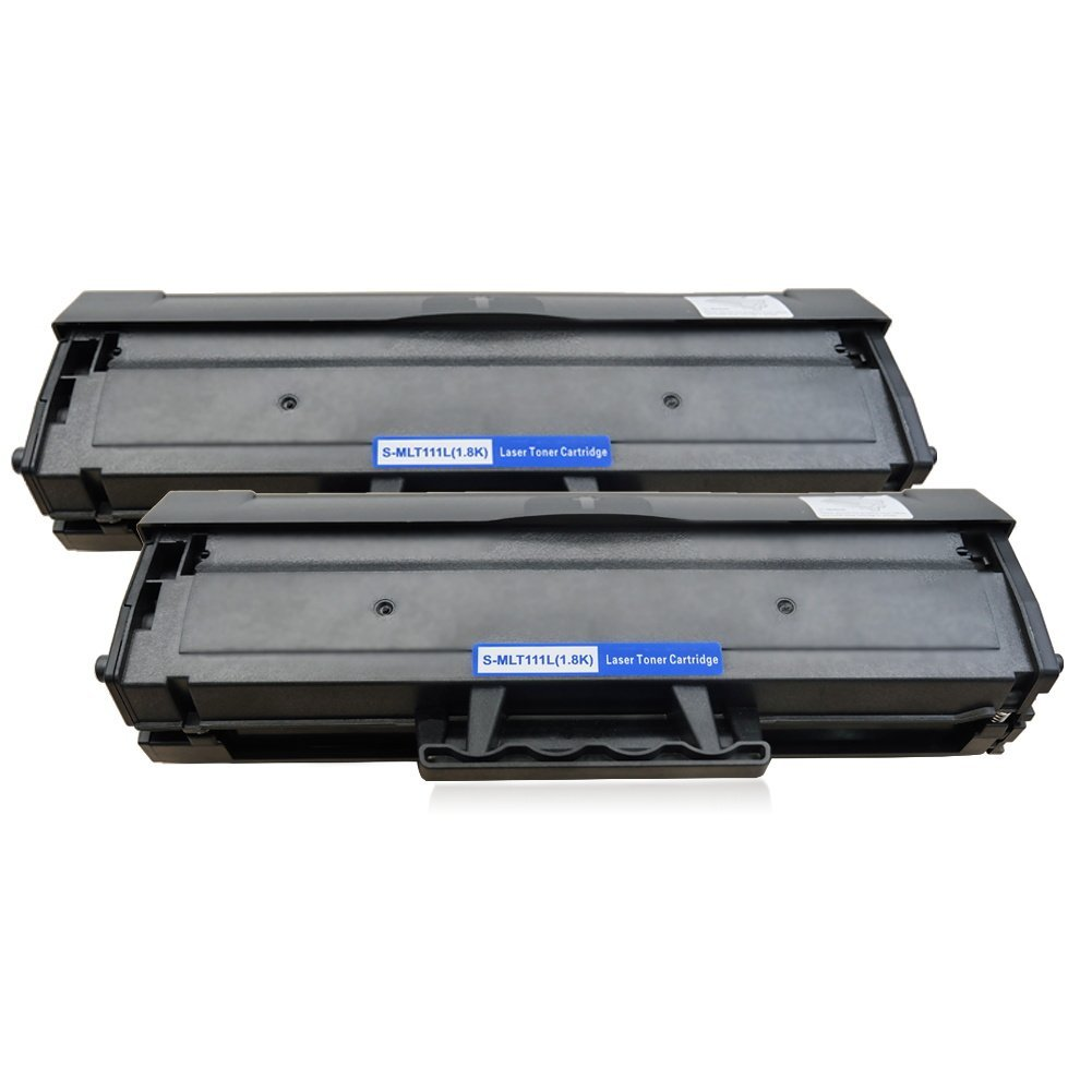 2 Toner Cartridge Compatible Samsung MLT-D111L (D111L) Black